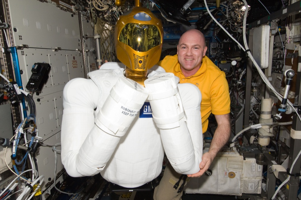 Andre Kuipers - Space Robot