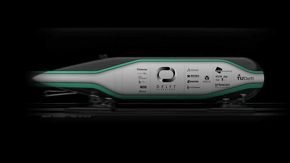 Hyperloop capsule TU Delft