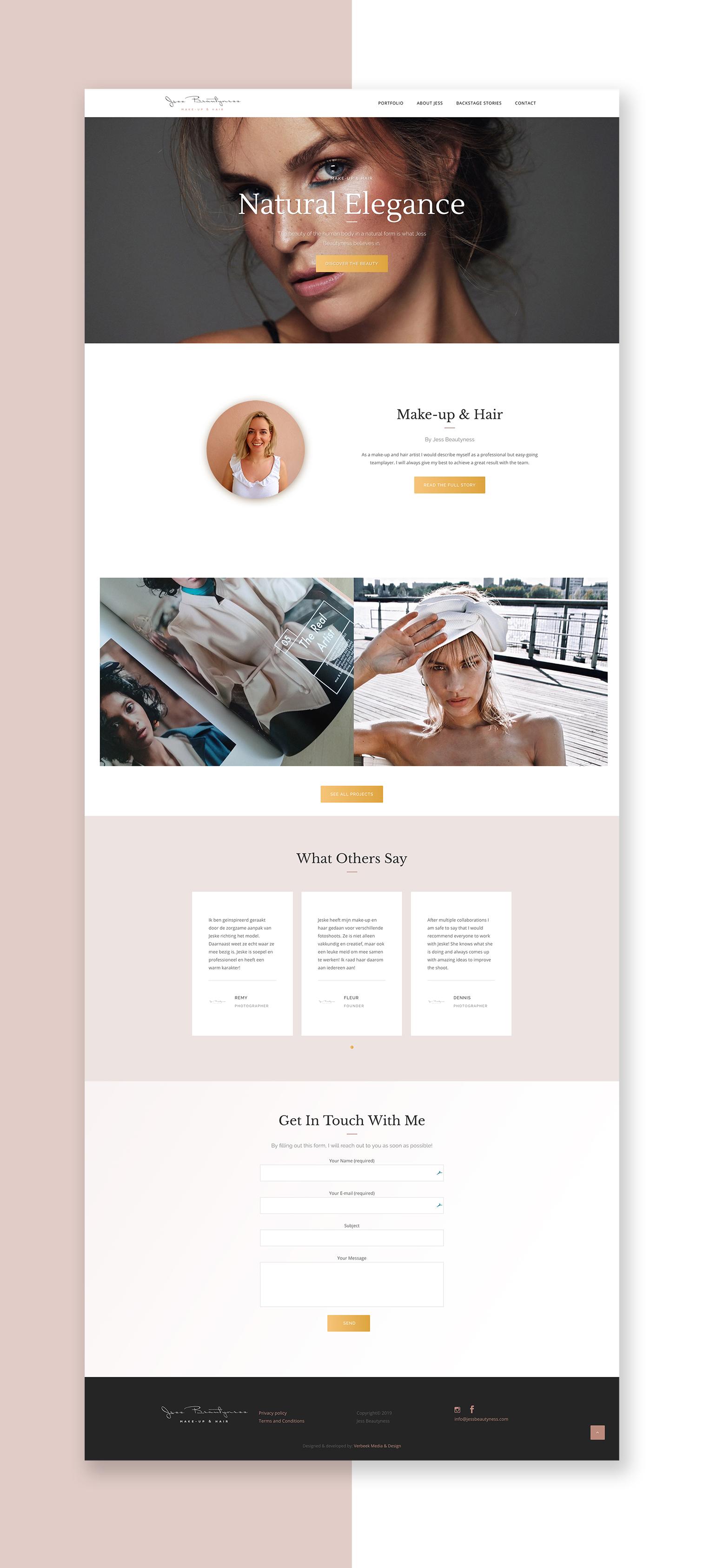 jess-beautyness-website-homepage